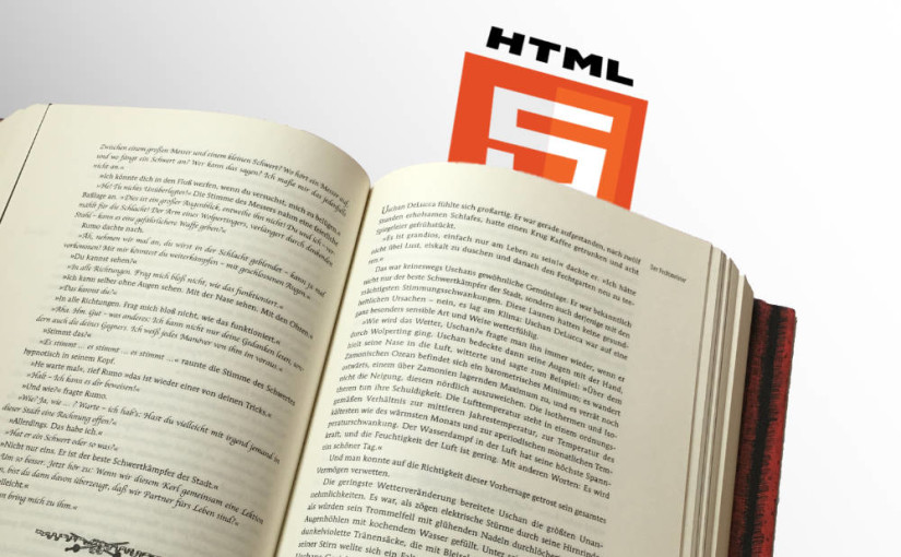 Typesetting a novel for Print with HTML & CSS Paged Media